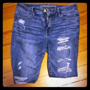 Anerican Eagle size 10 short jeans